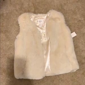 False fur jacket forever 21